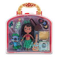 Игровой набор Дисней мини Лило и Стич Disney Animators Collection Lilo & Stitch Mini Doll Play Set - 5´