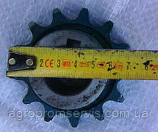 Звездочка вентилятора Енисей 60379 Z-13,t-19,05, фото 3
