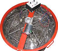 Медогонка 4-х рамочная  нержавейка КС электрическая