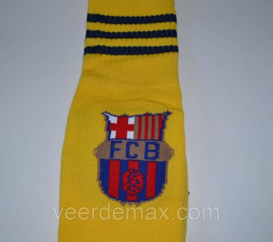 Гетры футбольные детские Барселона