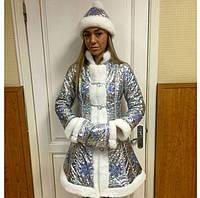 Карнавальный костюм снегурочка ( взрослая)