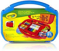 Набор для творчества Crayola в чемоданчике синий (04-2704-1)