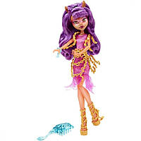 Кукла Monster High Клодин Вульф (Clawdeen Wolf) из серии Haunted Getting Ghostly Монстр Хай