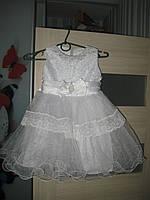 Нарядное платье снежинки,звездочки,капельки на Новый год