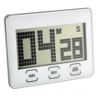 Таймер цифровой TFA с секундомером, 90x21x70 мм (382027)