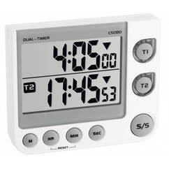 Таймер цифровой TFA с секундомером, 76x90x20 мм (382025)