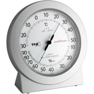 Термогигрометр TFA Precision, японский высокоточный механизм, 115x40x120мм (452020)