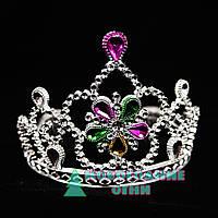 Корона карнавальная Царевна с рубинами