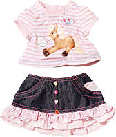 Одежда со звуковыми эффектами для куклы Baby Born Zapf Creation Лошадка 817612L