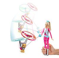 Кукла Mattel Barbie Star Light Galaxy & Flying Cat - Барби и космический котик