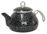 Чайник 2,2 л Ажур чёрный 2598С
