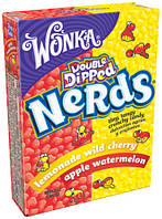 Nerds от Вилли Вонка (Willy Wonka)  Apple-Watermelon and Lemonade-Wild Cherry 46.7g