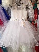 """Бальное платье на 3-4 года """"Снежинка/23"""""""