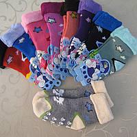 """Носки махровые детские c защ. от скольж. S (1-2 года). """"Корона"""".Детские  носки, носочки махровые  для детей"""