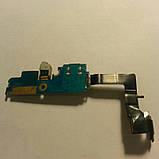 Шлейф для Samsung i9100 Galaxy S2 коннектора заряда,микрофона с компонентами(оригинал б/у), фото 2