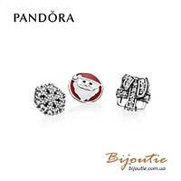 Pandora шармы-миниатюры ЗИМНЕЕ ВОЛШЕБСТВО 792023CZ серебро 925 Пандора оригинал