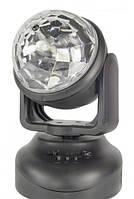 Вращающийся LED проектор для дискотек с USB Лед Бим Мувин Хед, диско шар Led Beam Moving Head Lighting