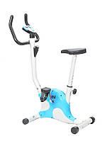 Велотренажер механический HouseFit HSF 8012 голубой
