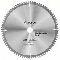 Пила дисковая по деревуBOSCH 305x30x80z Multi ECO