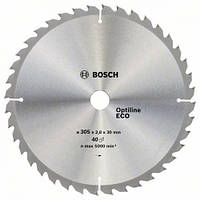 Пила дисковая по деревуBOSCH 254x30x96z Multi ECO