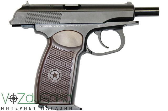 Пневматический пистолет макарова kwc makarov blowback