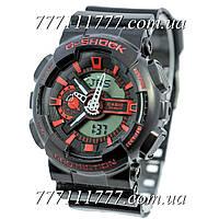 Часы мужские наручные Casio G-Shock GA-110 Black-Red
