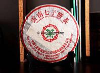 """Пуэр Шу """"Зеленая печать CNNP""""2002 года, 50 г на вес"""