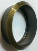 Врезная накладка (чаша) ESC 5513/60*12mm AB БРОНЗА (тех.упаковка)