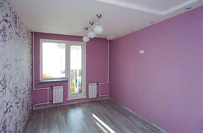 Покраска потолка (2 слоя)
