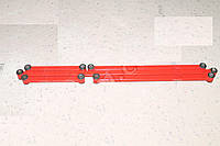 Штанга реактивная ВАЗ 2101-07 (компл.5шт) усиленные красные (заводская втулка) (производство г.Харьков)