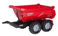 Прицеп на 4-х колесах Rolly Toys RollyHalfpipe Krampe красный
