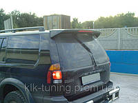 Mitsubishi Pajero Sport ( 2000-2006 ). Спойлер на заднюю дверь, с/с