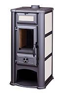 Печь-камин Tim Sistem Lederata 9 кВт
