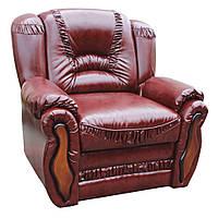 """Раскладное кожаное кресло """"Васко"""". (105 см)"""