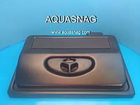 """Пластиковая крышка """"AQUASNAG"""" прямая (50*30)см, 2*Е14"""