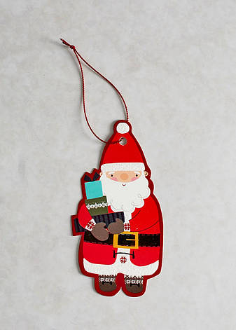 "Новогодние открытки ""Дед Мороз"" набор 20 шт, фото 2"