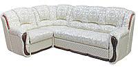 """Раскладной кожаный угловой диван  """"Галич"""". (275*190 см)"""