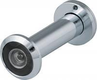 Глазок дверной DVZ2, 16/200/60x100 (оптика пластик, угол обзора 200) CP Хром