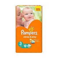 Памперсы для детей Pampers Sleep and Play 3/58 (4-9кг.) Pack