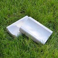 Отлив бетонный тротуарный 250*160*40 мм, серый