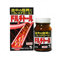 KOBAYASHI  Dolchitoll  для снижения холестерина в крови (120 таблеток) на 30 дней