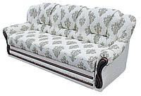 """Прямой кожаный раскладной диван """"Данко"""". (240 см)"""