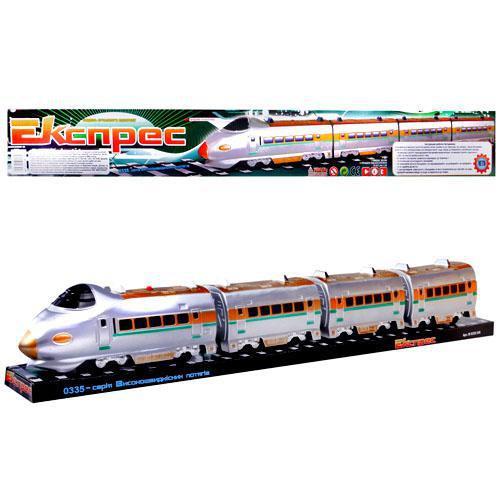 Детская игрушка паровоз электричка M 0335 U/R