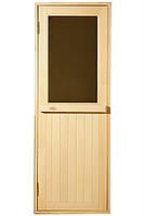 """Стеклянная дверь для сауны Tesli """"MAX""""  67,8x188"""