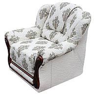 """Раскладное кожаное кресло """"Данко"""". (106 см)"""