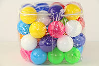 Шарики для сухого бассейна маленькие 35 шт. в сумке   БАМСИК