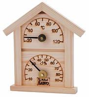 Термогигрометр SAWO 126 T-H домик