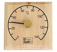 Термометр для бани SAWO 105 T квадратный