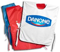 Накидка рекламная с нанесением логотипа  пошив на заказ