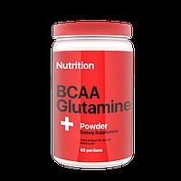 BCAA Glutamine (аминокислоты bcaa, глютамин) 1000 г порошок